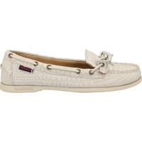 Schuhe Damen Slipper Sebago Mokassin Weiß