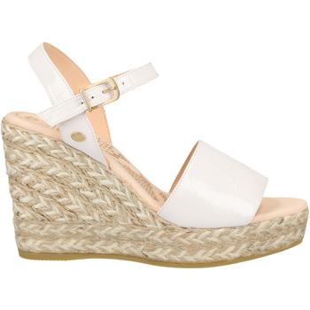 Schuhe Damen Sandalen / Sandaletten Fred de la Bretoniere Sandalen Weiß