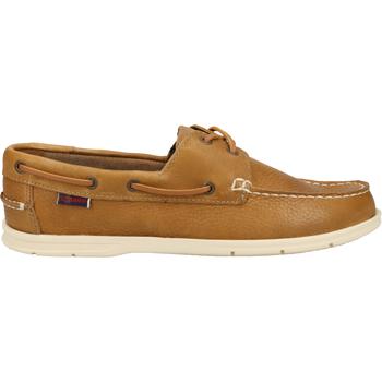 Schuhe Herren Bootsschuhe Sebago Halbschuhe Braun