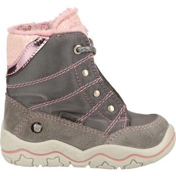 Schuhe Mädchen Klassische Stiefel Pepino Stiefel Grau/Rosa