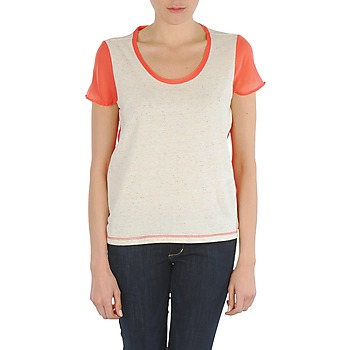 Kleidung Damen T-Shirts Eleven Paris EDMEE Beige / Orange