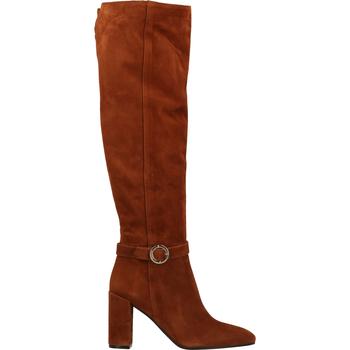 Schuhe Damen Kniestiefel Scapa Stiefel Braun