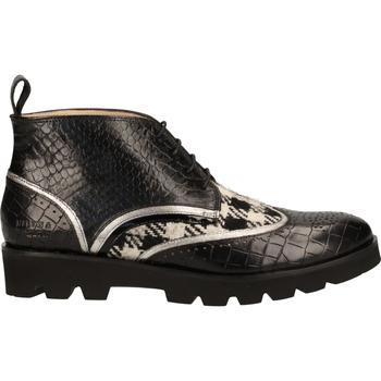Schuhe Damen Boots Melvin & Hamilton Halbschuhe Schwarz