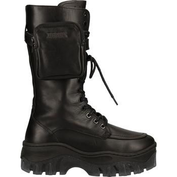 Schuhe Damen Low Boots Bronx Stiefel Black