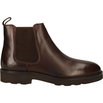 Schuhe Herren Boots Sansibar Stiefelette Dunkelbraun