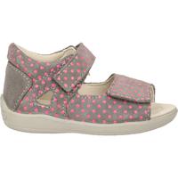 Schuhe Mädchen Sandalen / Sandaletten Pepino Sandalen Grau/Pink