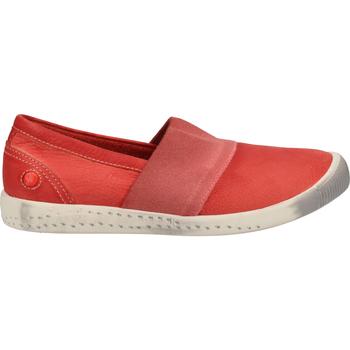 Schuhe Damen Slipper Softinos Slipper Red