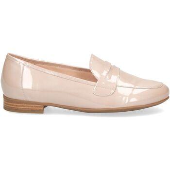Schuhe Damen Slipper Caprice Slipper Beige