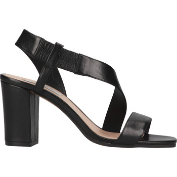 Schuhe Damen Sandalen / Sandaletten Steven New York Sandalen Schwarz