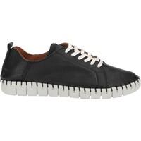 Schuhe Damen Derby-Schuhe Shabbies Amsterdam Halbschuhe Schwarz