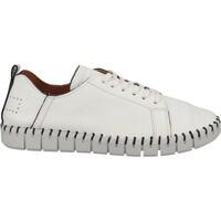 Schuhe Damen Derby-Schuhe Shabbies Amsterdam Halbschuhe Weiß