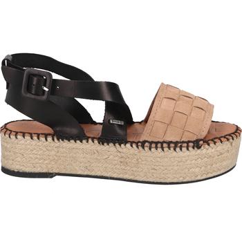 Schuhe Damen Sandalen / Sandaletten Shabbies Amsterdam Sandalen Hellrosa