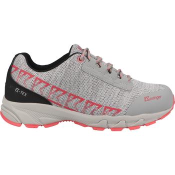 Schuhe Herren Wanderschuhe Kastinger Sneaker Grau/Rosa