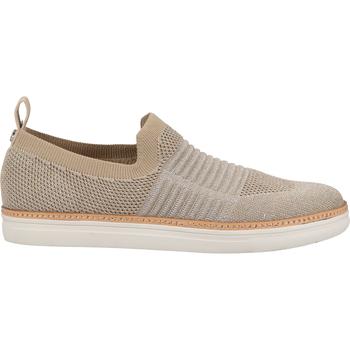 Schuhe Damen Slipper La Strada Slipper Beige/Silber