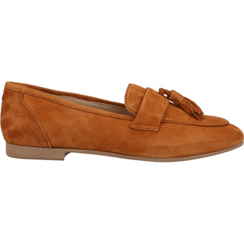 Schuhe Damen Slipper Sansibar Slipper Braun