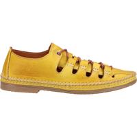Schuhe Damen Derby-Schuhe Cosmos Comfort Halbschuhe Gelb