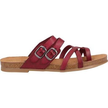 Schuhe Damen Zehensandalen Cosmos Comfort Zehensteg Burgundy
