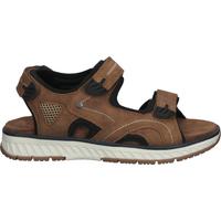 Schuhe Herren Sportliche Sandalen Relife Sandalen Mittelbraun