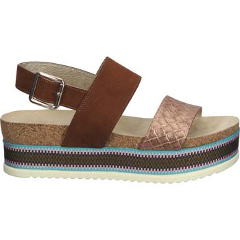 Schuhe Damen Sandalen / Sandaletten Bullboxer Sandalen Braun