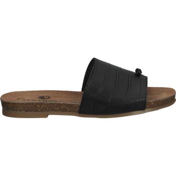 Schuhe Damen Zehensandalen Cosmos Comfort Zehensteg Schwarz