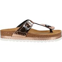 Schuhe Damen Zehensandalen Cosmos Comfort Zehensteg Rosegold