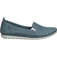 Schuhe Damen Slipper Cosmos Comfort Slipper Blau