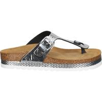 Schuhe Damen Zehensandalen Cosmos Comfort Zehensteg Silber