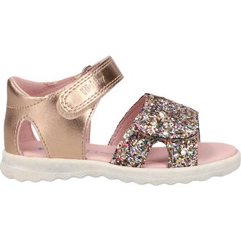 Schuhe Mädchen Sandalen / Sandaletten Richter Sandalen Gold