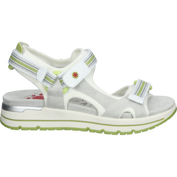 Schuhe Damen Sportliche Sandalen Relife Sandalen Grau/Weiß
