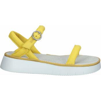 Schuhe Damen Sandalen / Sandaletten Fly London Sandalen Gelb