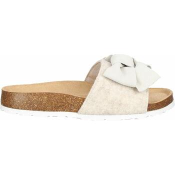 Schuhe Damen Hausschuhe Shepherd Hausschuhe Creme