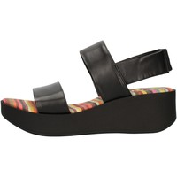 Schuhe Damen Sandalen / Sandaletten The Flexx DS21F254810 Schwarz