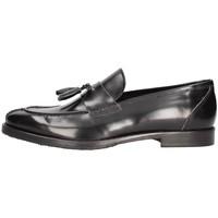 Schuhe Herren Slipper Arcuri 5501_7 Bummler Mann Schwarz Schwarz