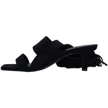 Schuhe Damen Sandalen / Sandaletten Janet&Janet 01151 SCHWARZ