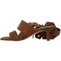 Schuhe Damen Sandalen / Sandaletten Janet&Janet 01151 LEDER