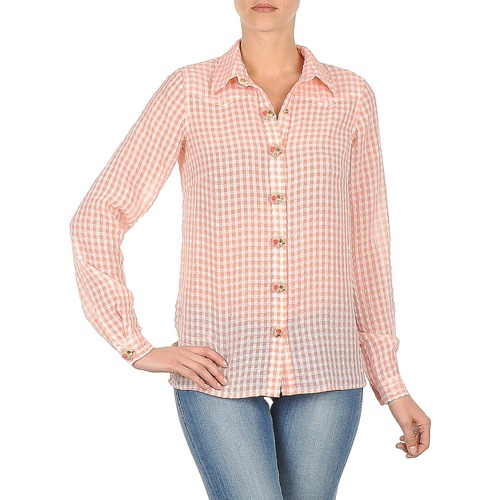 Kleidung Damen Hemden Manoush CHEMISE ML ALIZE Rose