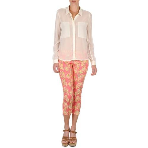 Kleidung Damen 3/4 Hosen & 7/8 Hosen Manoush PANTALON GIPSY JEANS Rose
