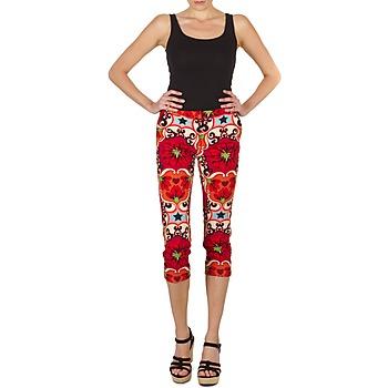 Kleidung Damen 3/4 Hosen & 7/8 Hosen Manoush PANTALON POPPY Rot