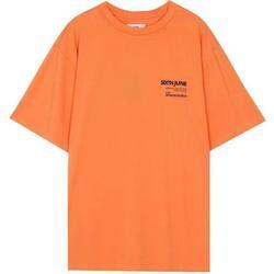 Kleidung Herren T-Shirts Sixth June T-shirt  barcode orange