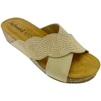 Schuhe Damen Pantoffel De Fonseca DEFONCERVIAbei bianco
