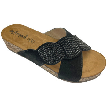 Schuhe Damen Pantoffel De Fonseca DEFONCERVIAner nero