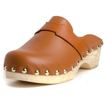 Schuhe Damen Pantoletten / Clogs Tiziana ZUECO 05P Braun