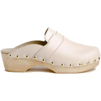 Schuhe Damen Pantoletten / Clogs Tiziana ZUECO 05P Beige