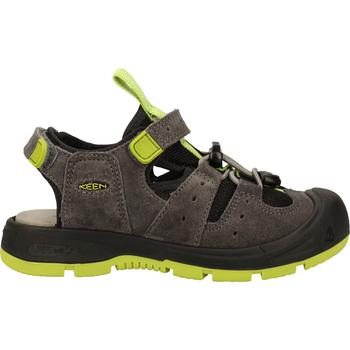 Schuhe Jungen Sportliche Sandalen Keen Sandalen Grau/Grün