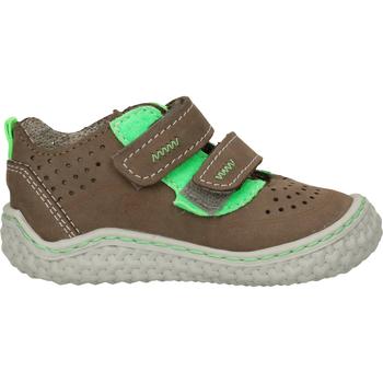 Schuhe Jungen Babyschuhe Pepino Halbschuhe Grau/Grün