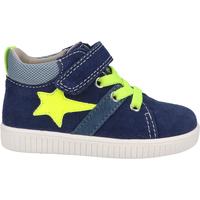Schuhe Jungen Sneaker Low Richter Sneaker Blau/Gelb