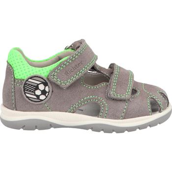 Schuhe Jungen Sandalen / Sandaletten Richter Halbschuhe Grau/Grün