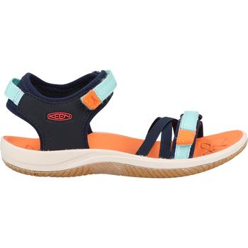 Schuhe Mädchen Sportliche Sandalen Keen Sandalen Schwarz/Blau