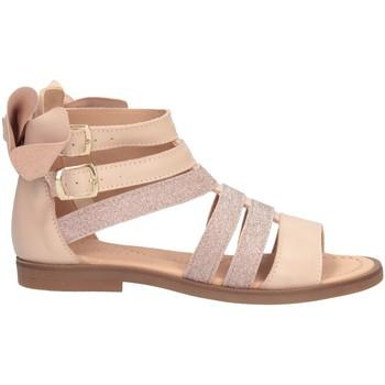 Schuhe Mädchen Sandalen / Sandaletten Dianetti Made In Italy I8625L Sandalen Kind NACKT NACKT
