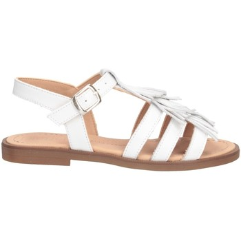 Schuhe Mädchen Sandalen / Sandaletten Dianetti Made In Italy I9748C Sandalen Kind WEISS WEISS
